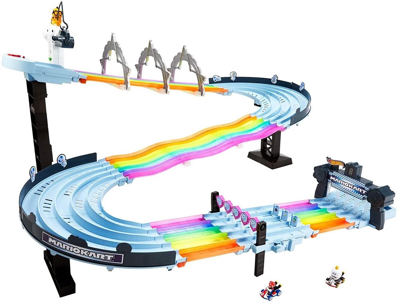 Hot Wheels Mattel Pista Mario Kart Rainbow Road