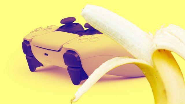 Dualsense Plátano