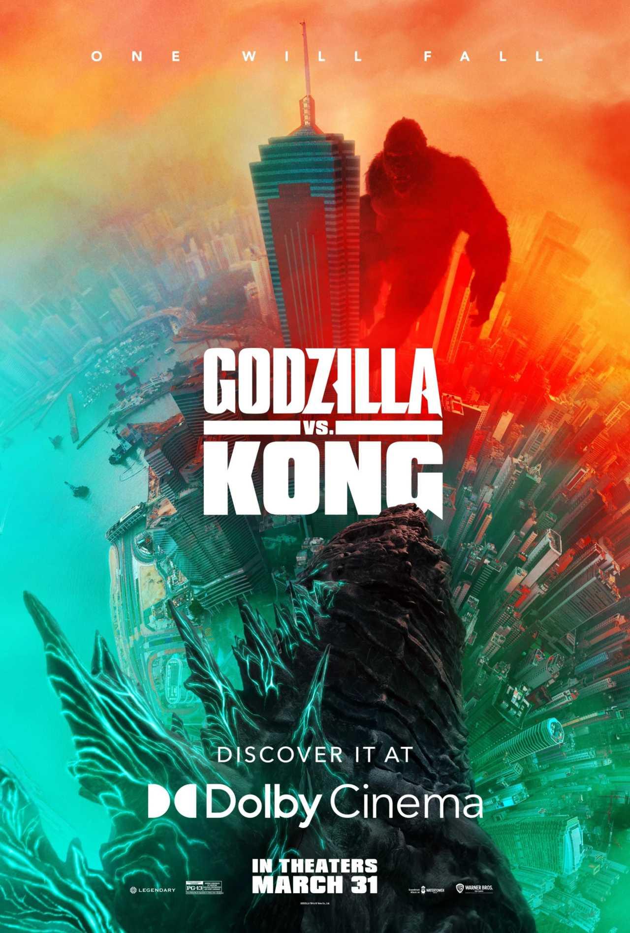 Póster Godzilla vs Kong Película HBO Max