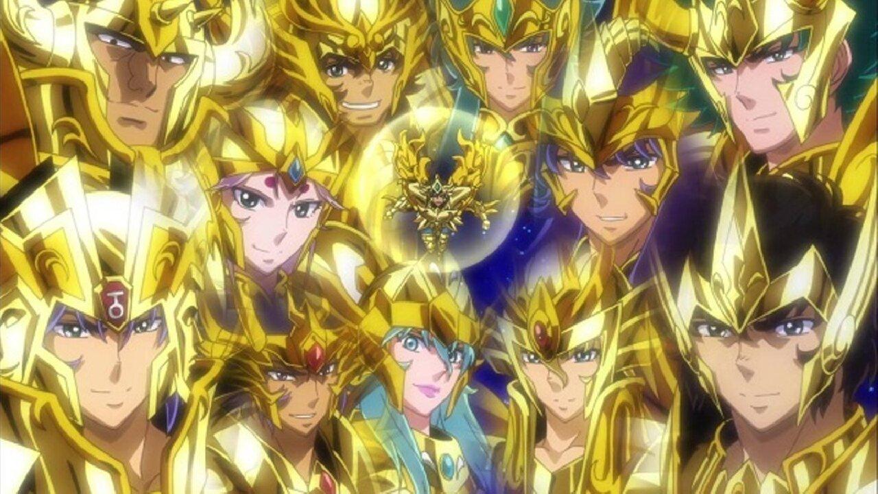 Caballeros dorados toei animation saint seiya