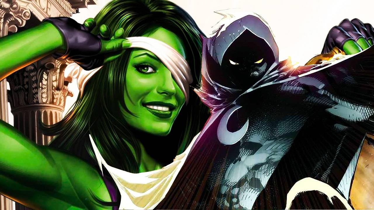 Moon Knight y She Hulk