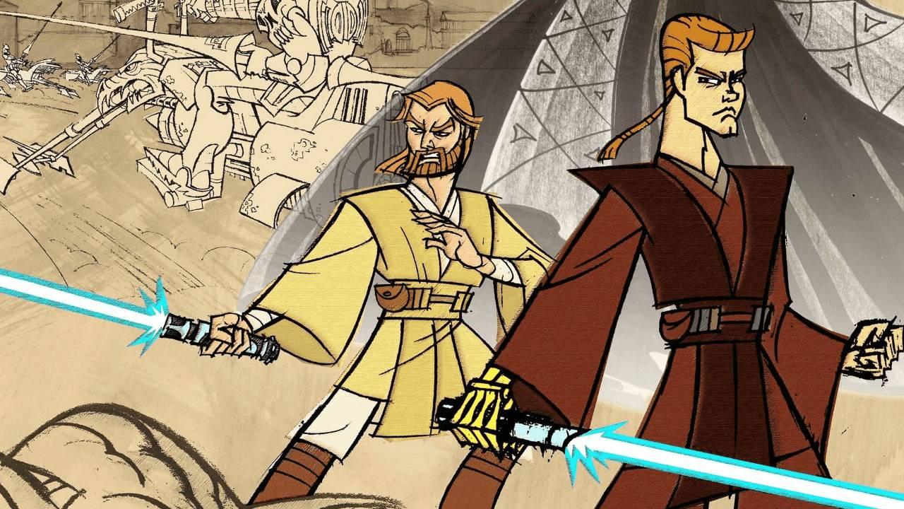 Star Wars Clone Wars Serie Animada Genndy Tartakovsky Disney+