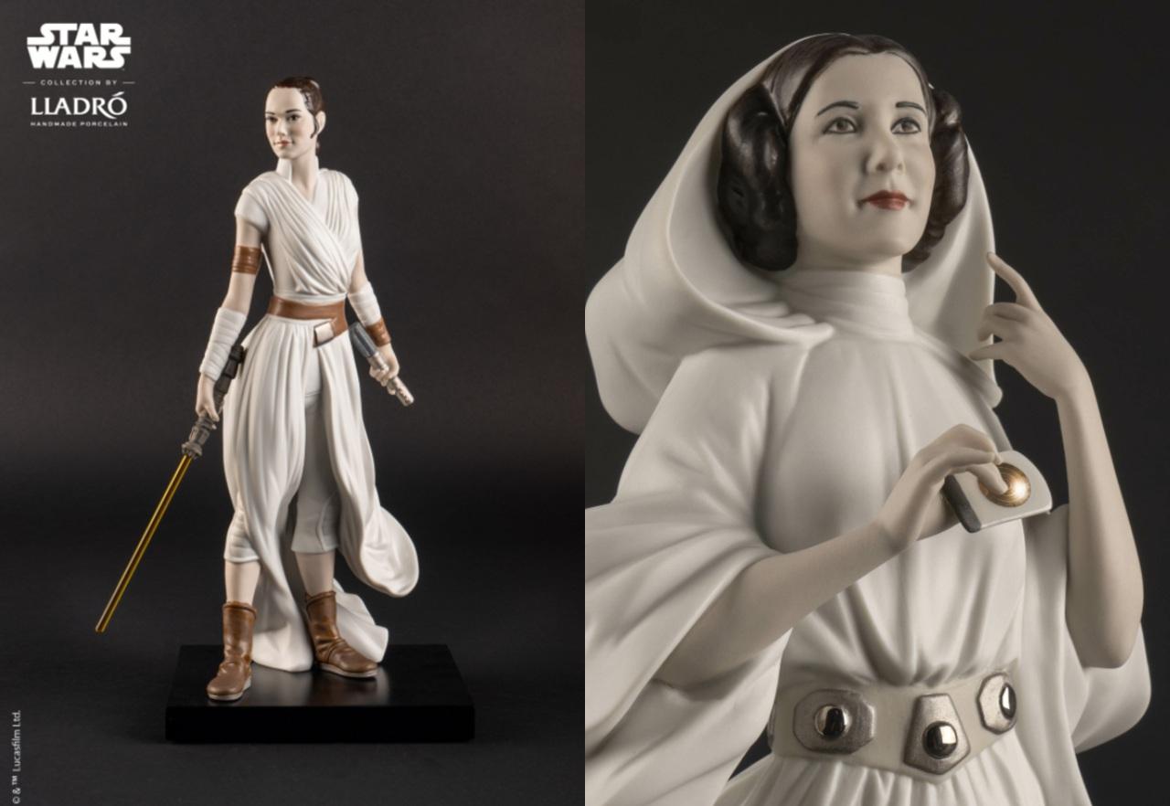 Star Wars figuras porcelana edición limitada