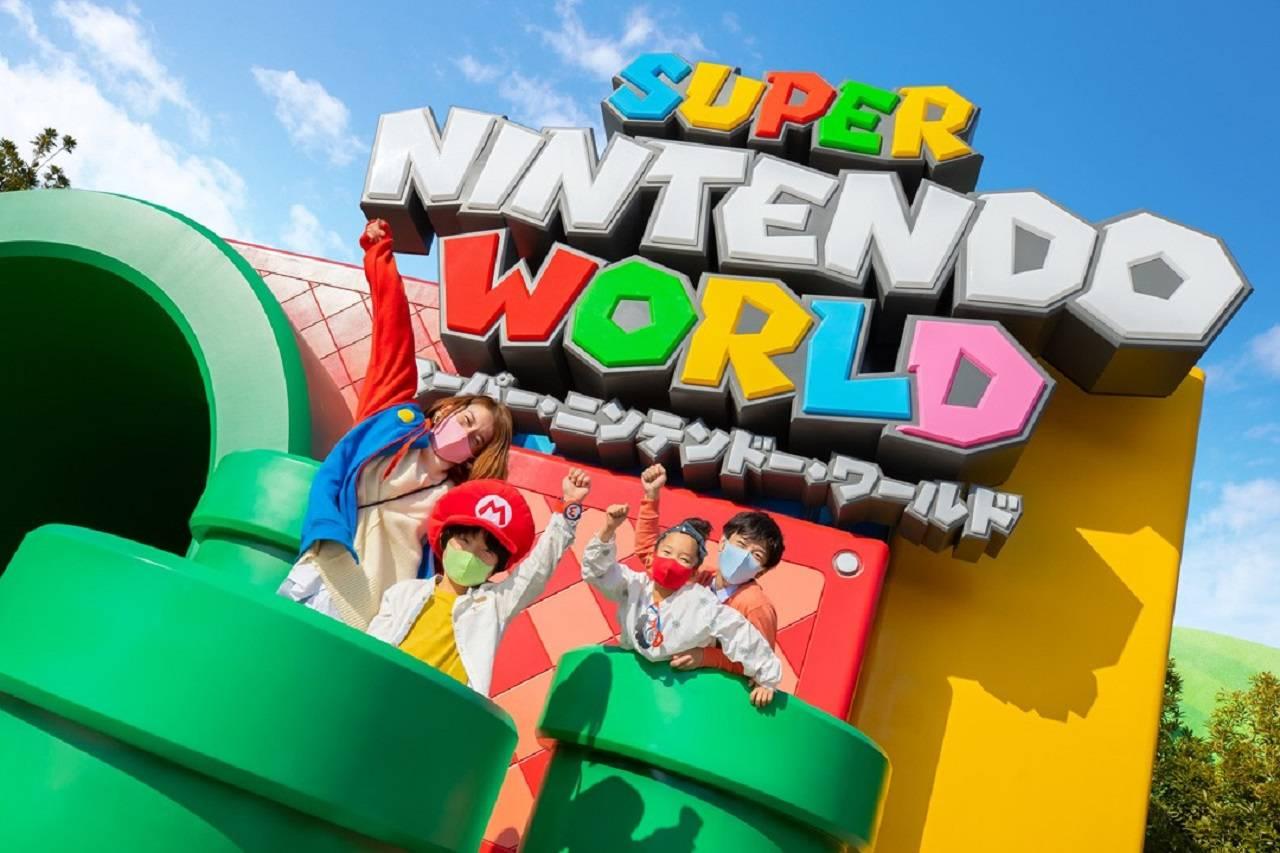 Parque temático Nintendo Super Nintendo World Japón