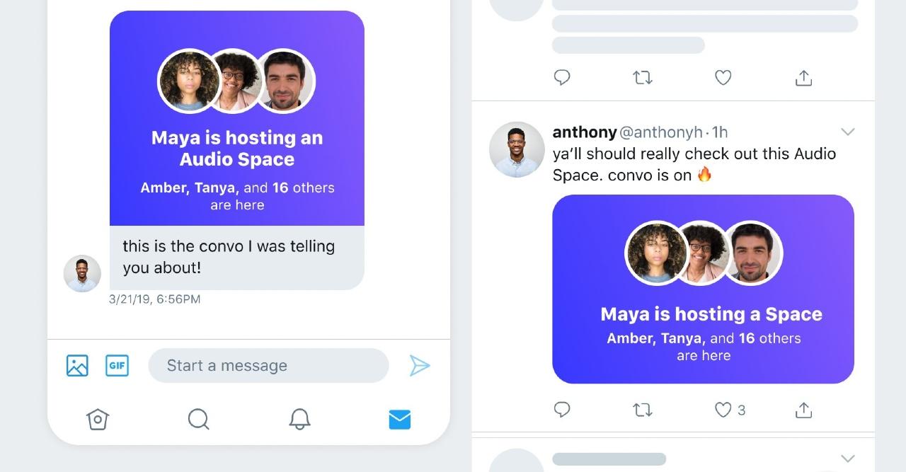 Twitter Spaces fecha de lanzamiento
