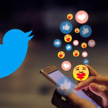 Twitter reacciones con emojis negativas Facebook