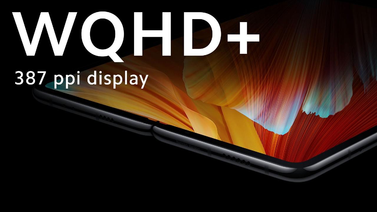 Xiaomi Mi MIX FOLD primer teléfono plegable