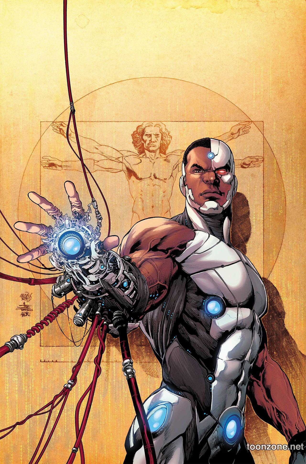 Cyborg Cómics DC Comics Victor Stone