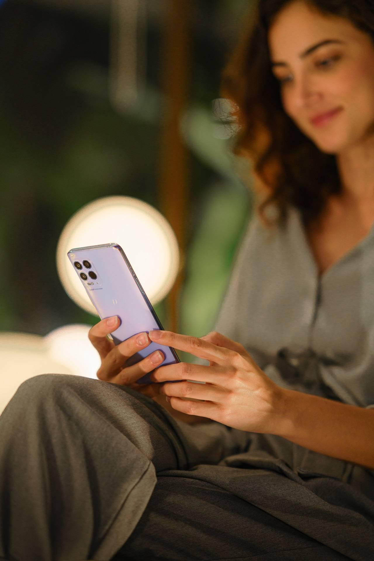 Motorola Teléfono Nuevo Moto G100 Gama Alta