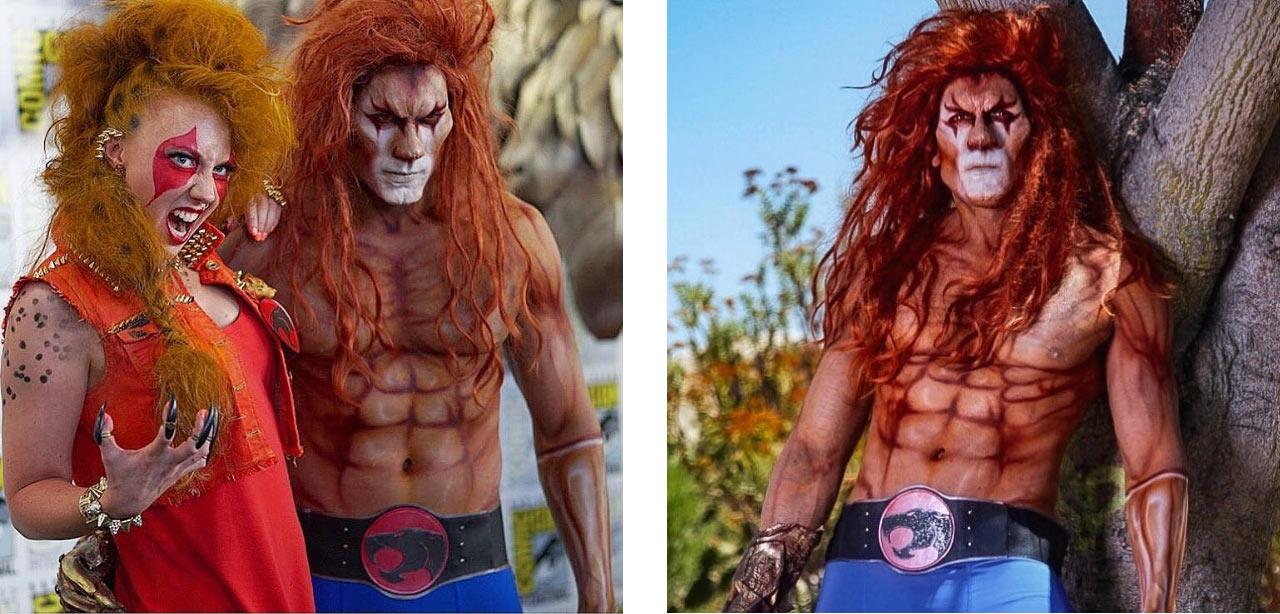 Thundercats cosplay Leono Cheetara