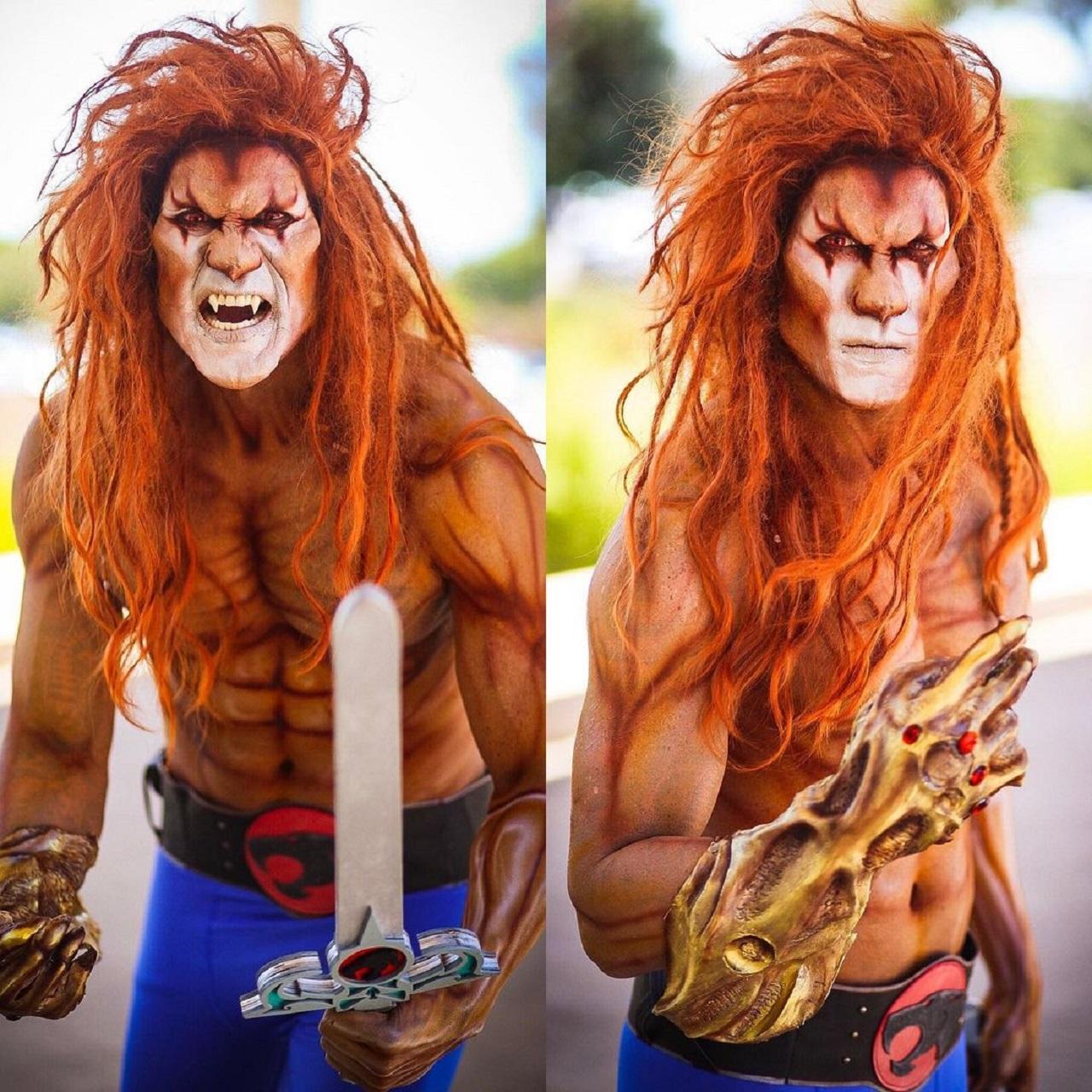 Thundercats cosplay Leono Lion-O