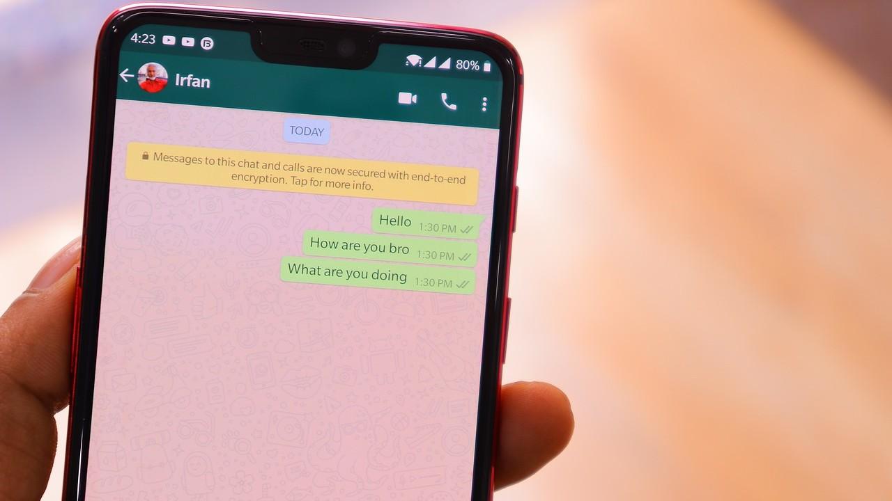 whatsapp enviar mensajes sin que aparezca escribiendo