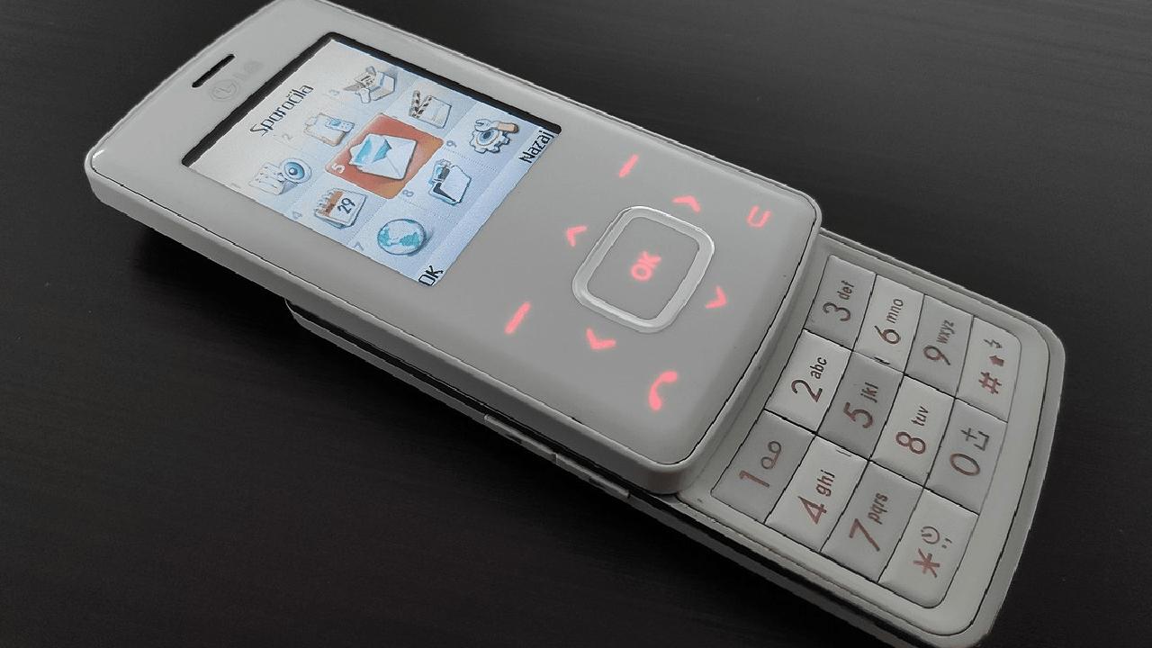lg chocolate teléfono reseña