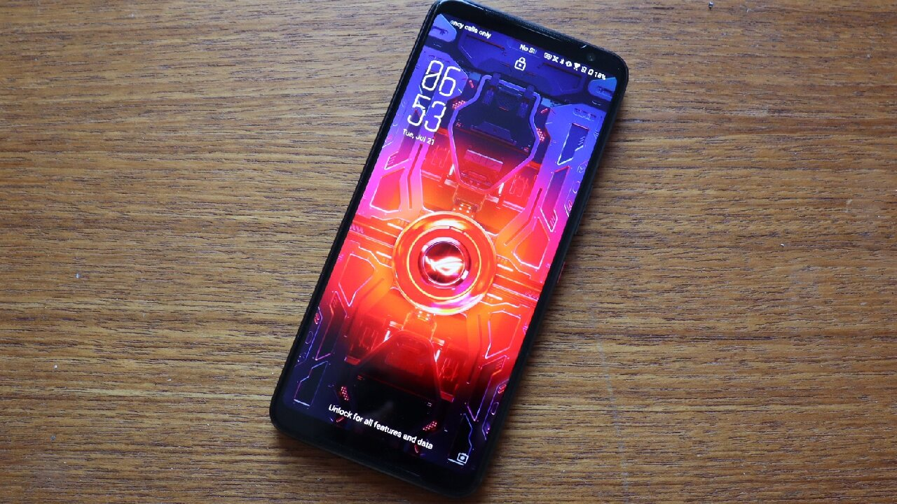 asus rog android smartphone gamer