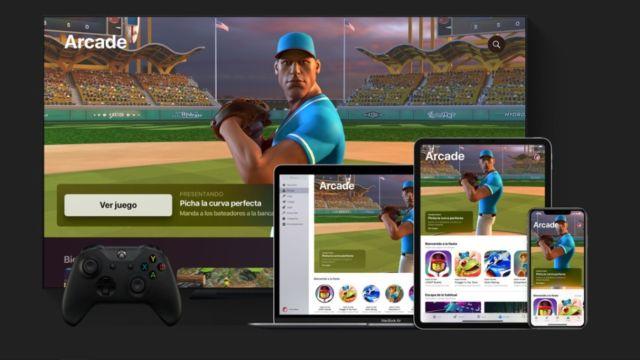 Apple Arcade servicio 30 juegos suscripción