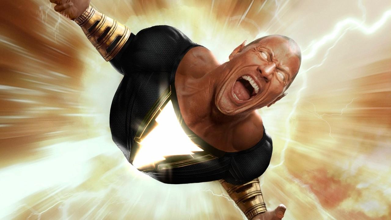 Black Adam Dwayne Johnson Película DC Comics