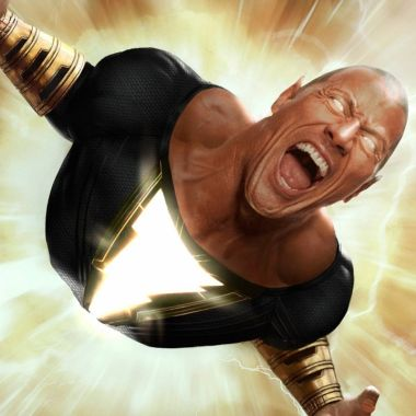 Black Adam Dwayne Johnson Película DC Comics