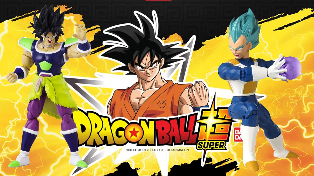 Dragon Ball Nuevas figuras colección Bandai México