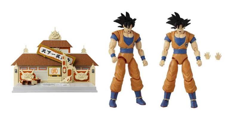 Dragon Ball Bandai juguetes Tenkaichi Set