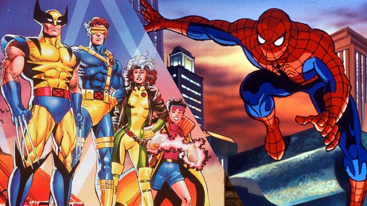 x-men spider-man series animadas 90's