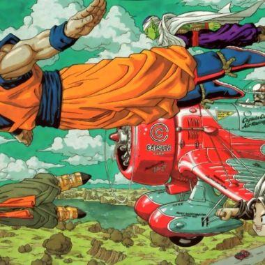 dragon ball manga ilustración akira toriyama