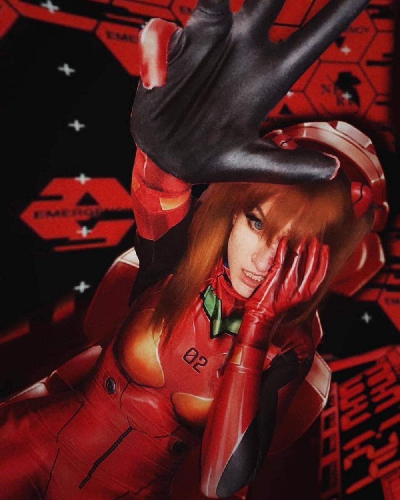Evangelion Anime Asuka Langley Cosplay