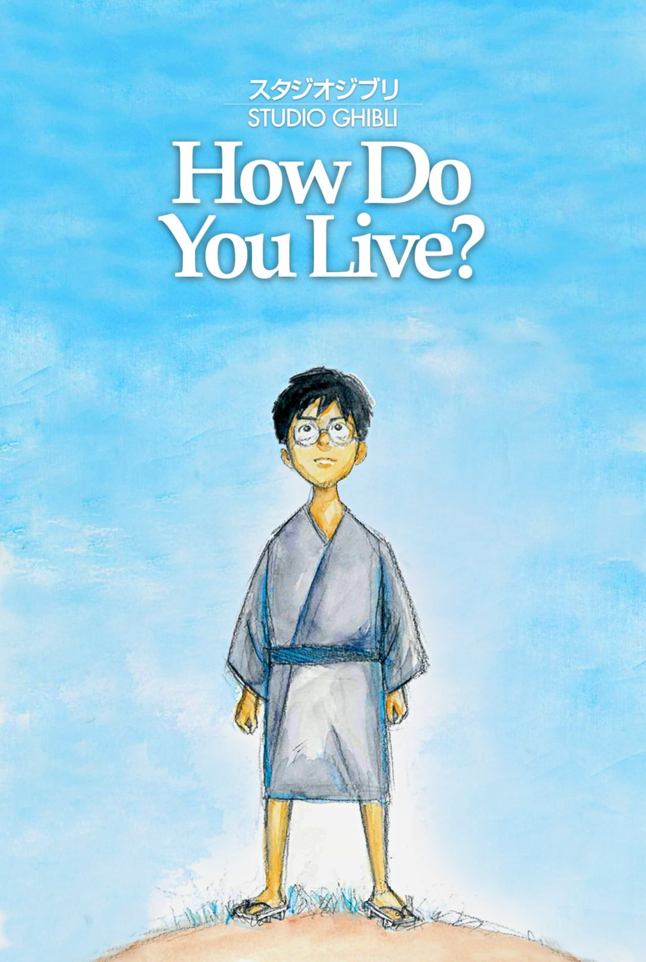 Póster Película How Do You Live Hayao Miyasaki Studio Ghibli