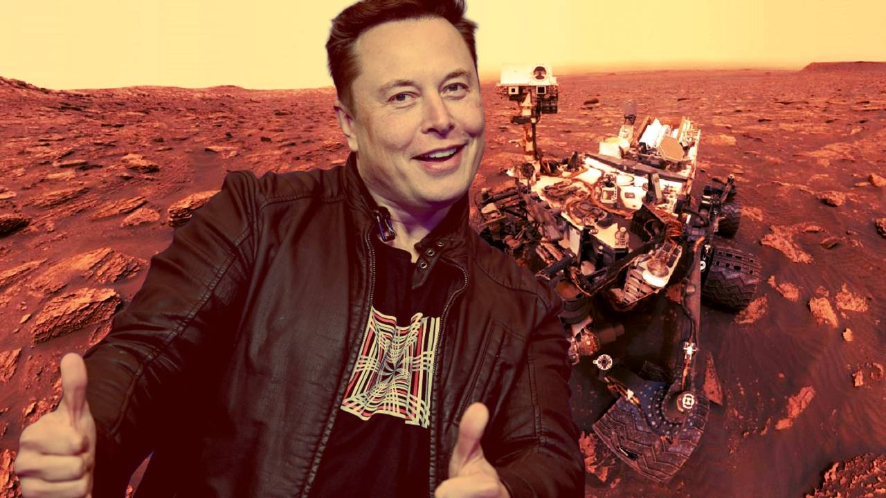 Elon Musk Marte SpaceX