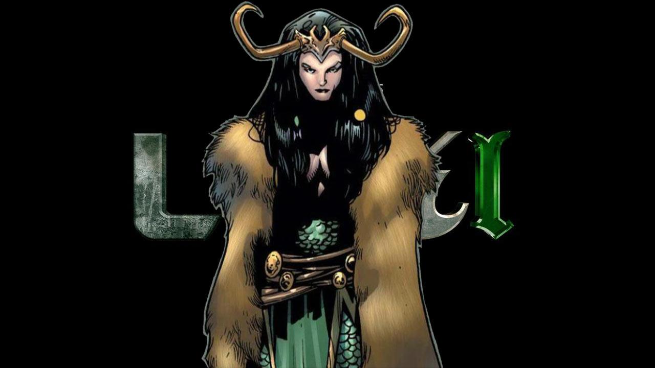 Lady Loki Mujer Marvel Comic