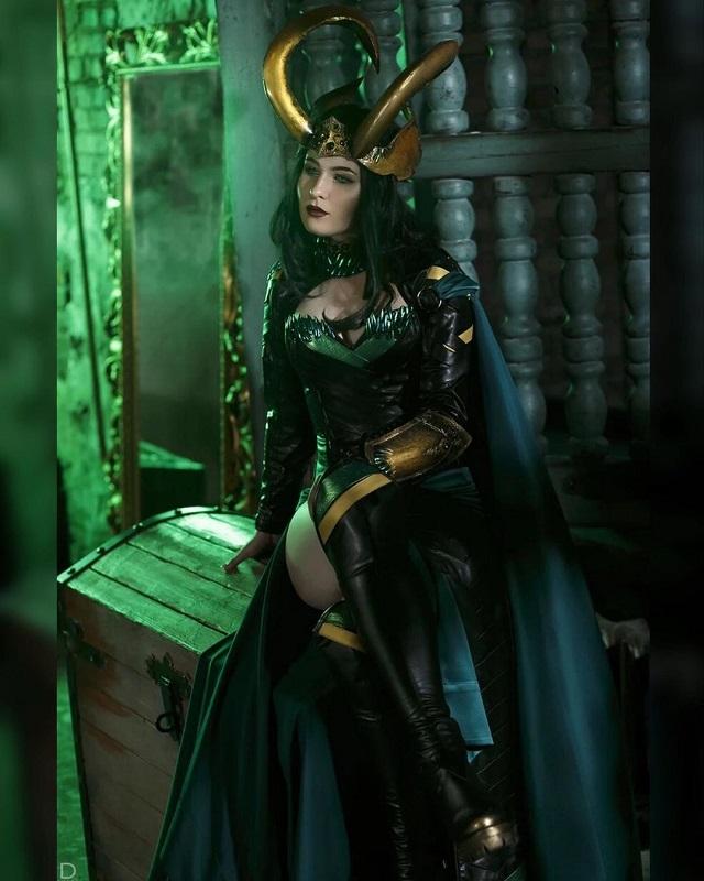 Cosplay Loki Mujer Marvel