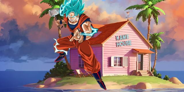 Marvel Martillo de Thor Goku Mjölnir