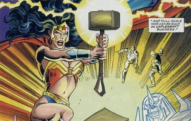 Marvel Martillo de Thor Wonder Woman Mjölnir
