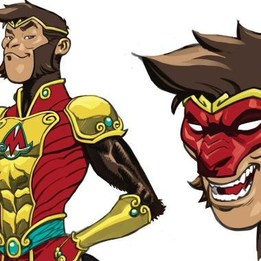 Monkey Prince DC Comics Superhéroe Asiático Cómics