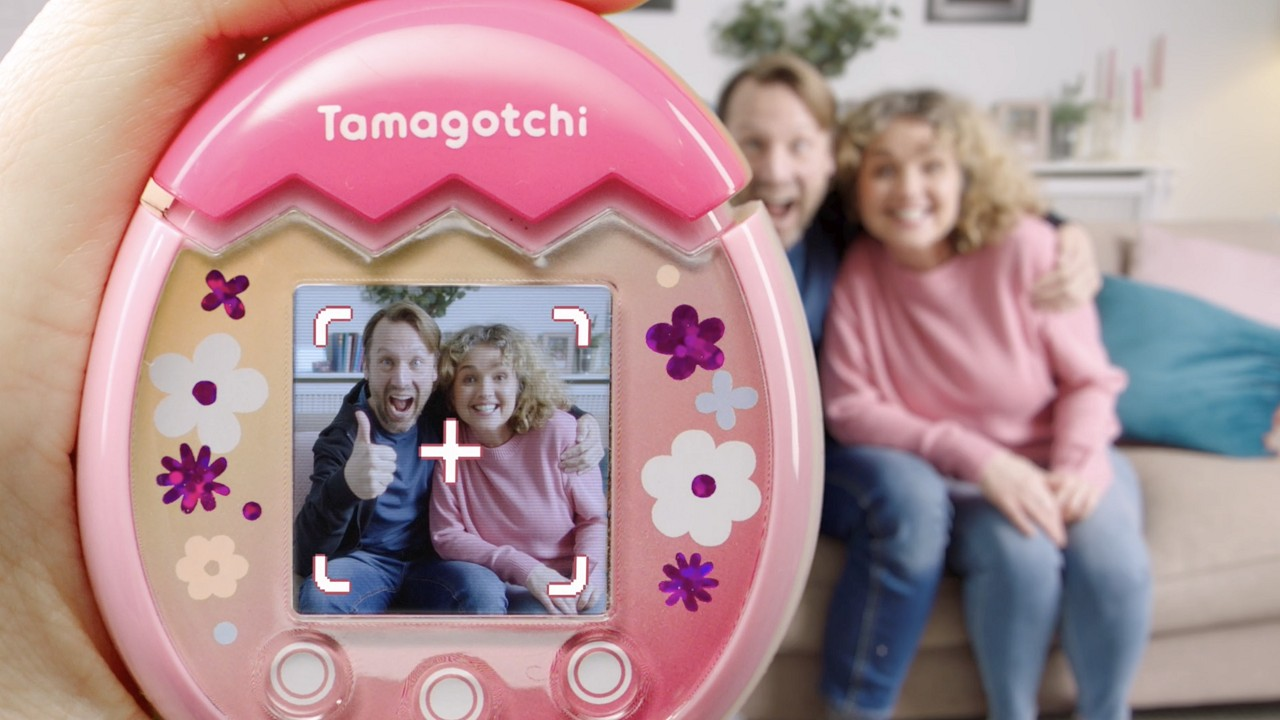 Nuevo Tamagotchi Cámara Fotográfica Tamagotchi Pix Bandai Namco