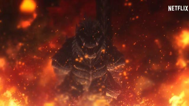 Netflix Anime Nuevo Tráiler Godzilla Singular Point