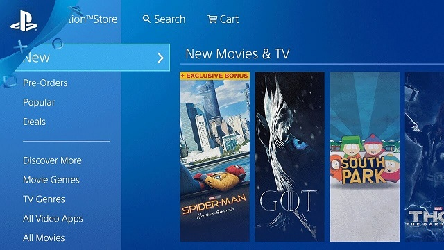 PlayStation Store PS3 PS Vita Tiendas Digitales