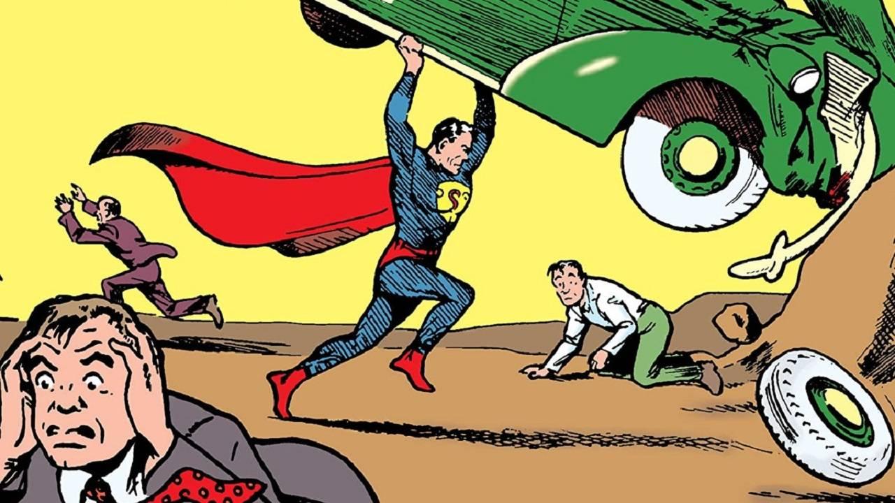 Action Comics Primer Cómic de Superman DC Comics
