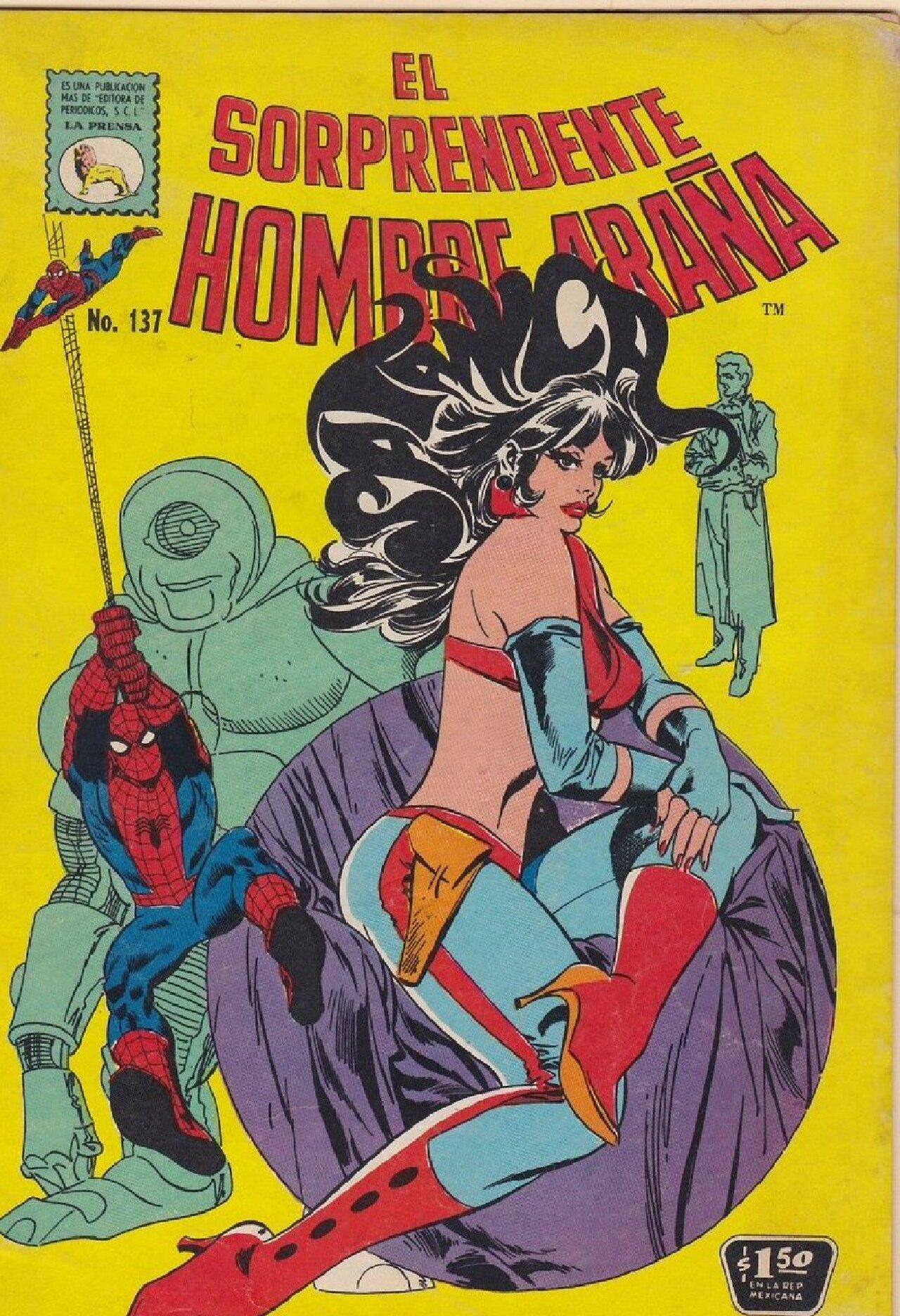 José Luis Durán spider-man cómic méxico