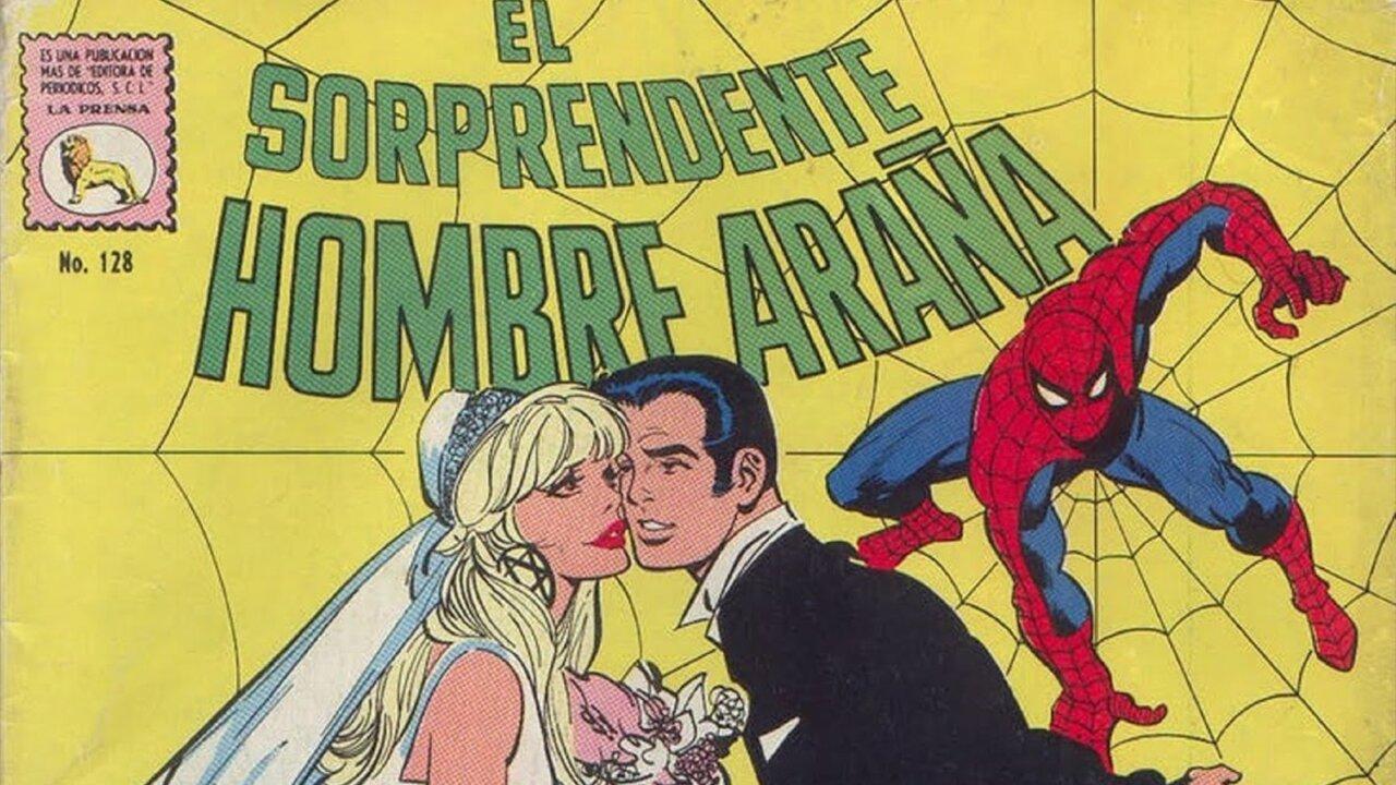 spider-man méxico comic versión gwen stacy