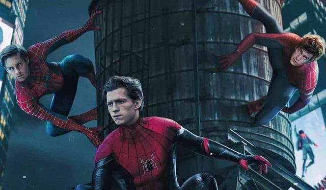 Spider-Verse Fanart Spider-Man Tom Holland Tobey Maguire