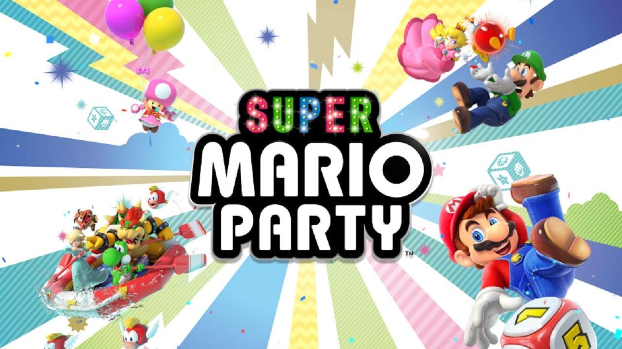 Super Mario Party Actualización Nintendo Videojuegos