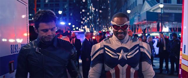 The Falcon and the Winter Soldier Sam Bucky Capitan América