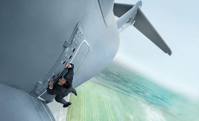 Tom Cruise Escenas de Acción Misión Imposible Películas