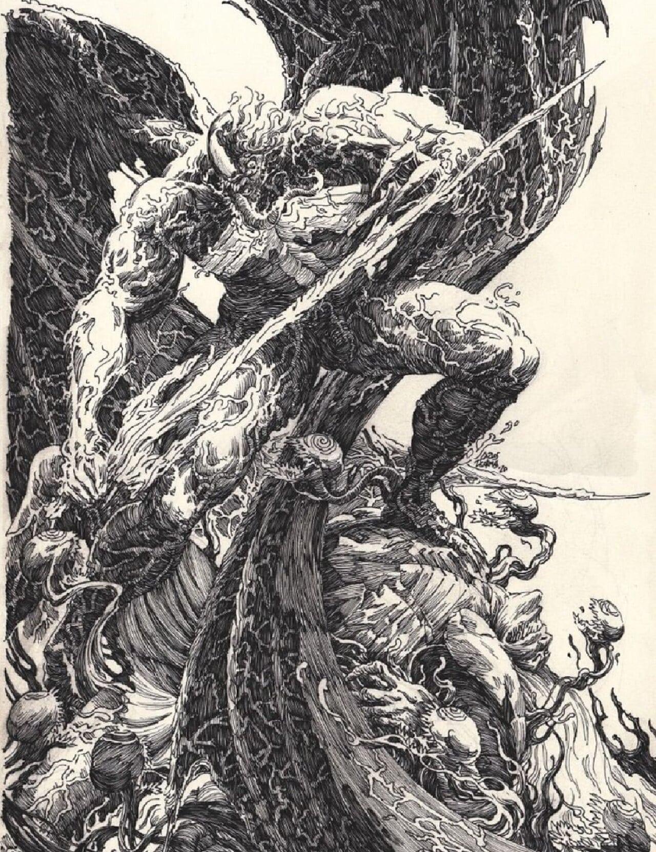 venom king in black knull