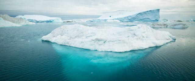 derretimiento de los glaciares calentamiento global