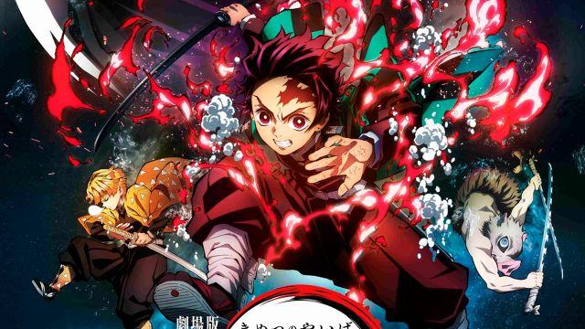 Así podrás ver la película de Kimetsu no Yaiba: Mugen Train