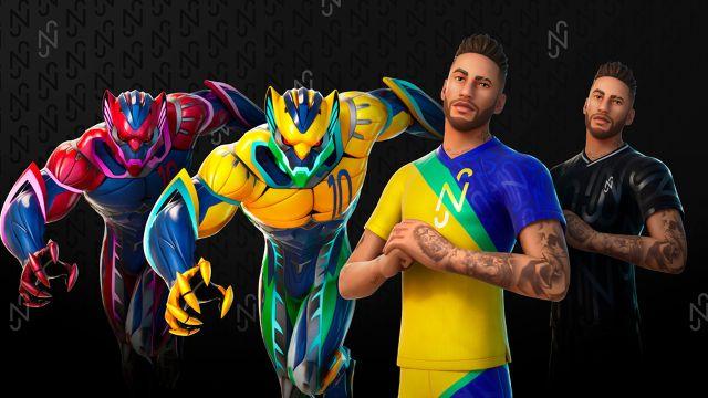 Lo que contiene la skin de Neymar Jr para Fortnite