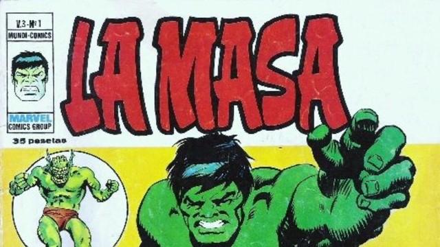 la masa hulk comic españa