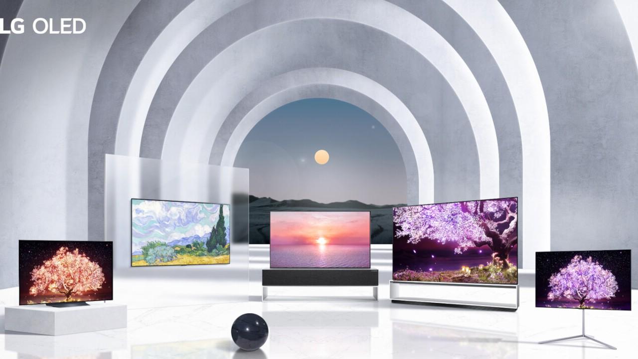 lg nuevas televisiones oled 2021 mexico