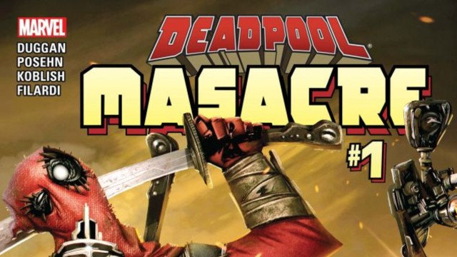 masacre marvel deadpool comiic